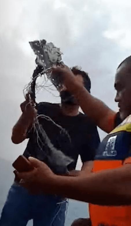 突发!印尼一架载有62人的客机坠毁