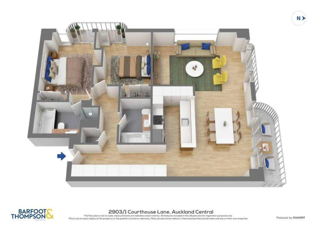 CBD 2房经典美寓 视野美轮美奂 配车位&泳池&健身房 浪漫生活尽在掌握!
