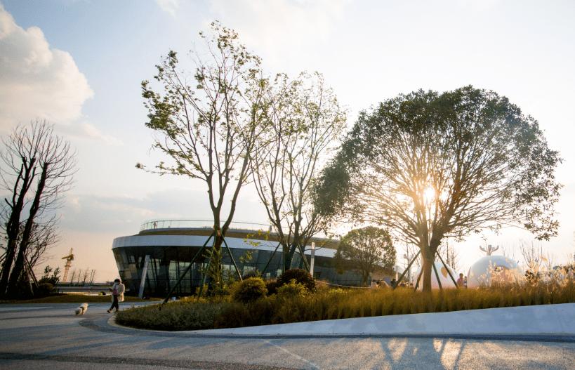 龙潭新区公园正式对外开放