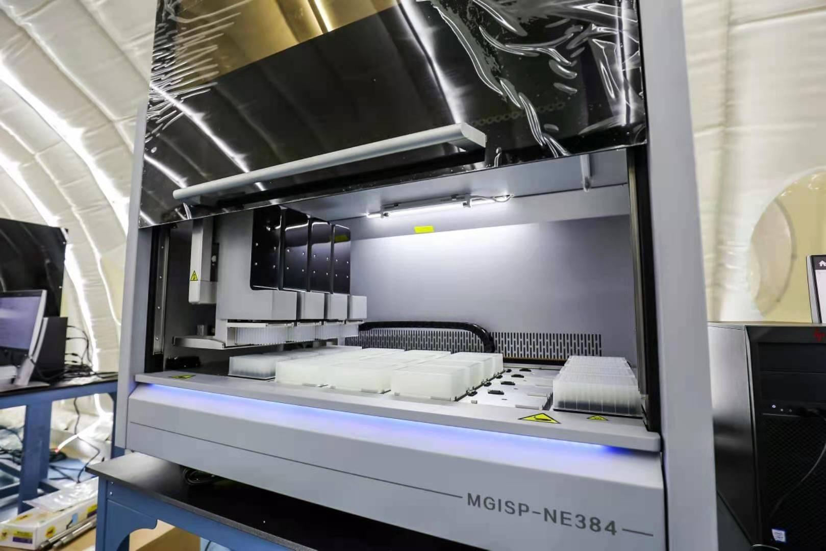 这款深圳造全自动核酸提取纯化仪助力河北疫情防控  单机可检测万例样本