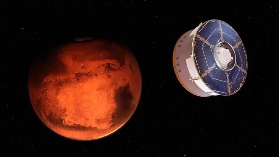 火星轨道开春晚 天问一号过大年  第5张