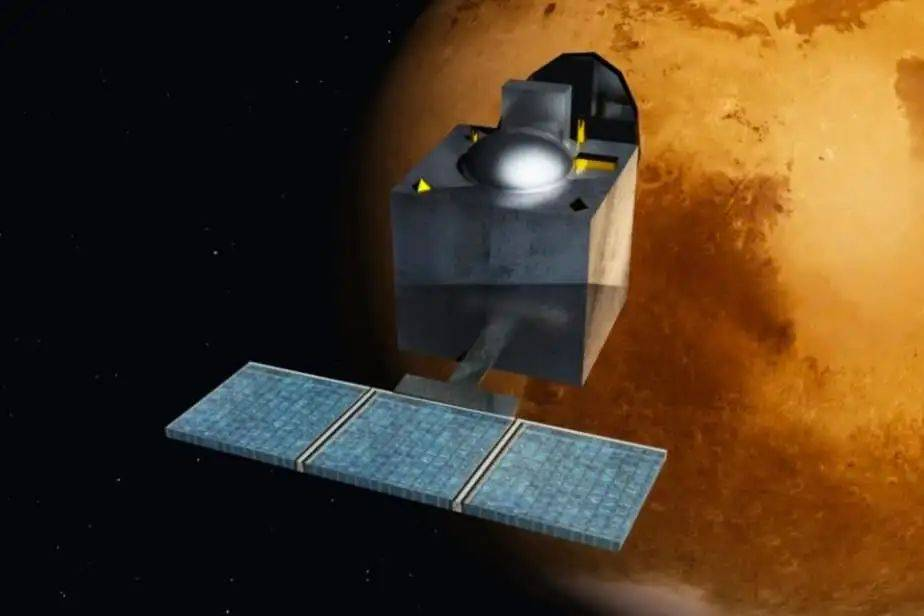 火星轨道开春晚 天问一号过大年  第4张