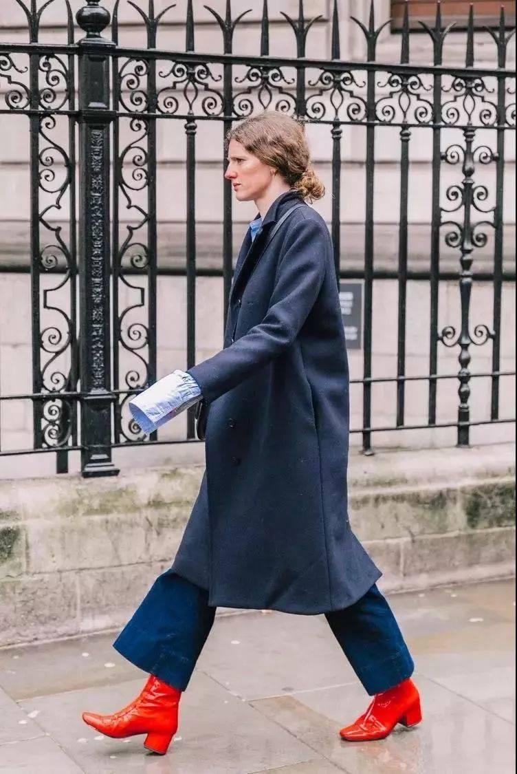 大衣,今年流行这几个颜色!