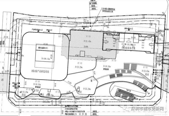 爆料!城建梅园即将动工,罗湖再添一栋200米地标大楼!