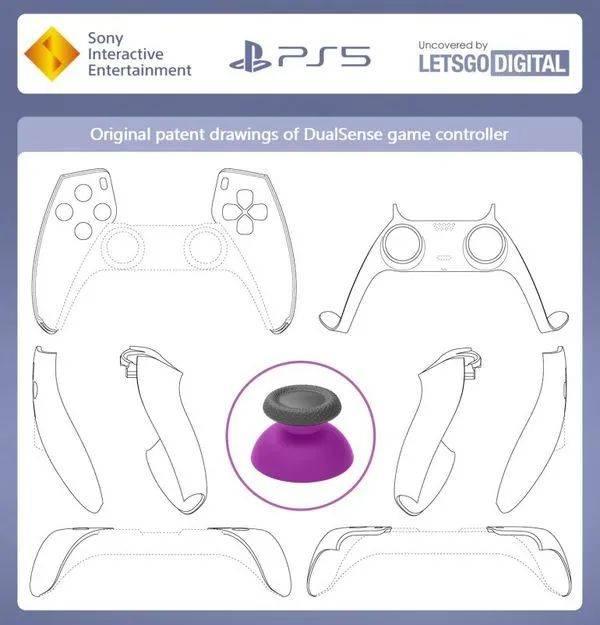 PS5原始专利图曝光,手柄疑似有功能未实装丨《赛博朋克2077》多人模式细节曝光