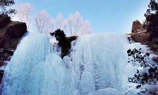 壮观!灵动!冬天专属!山西的冰瀑,绝美!  第8张