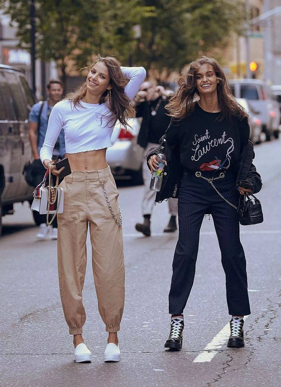 """时髦精偏爱的""""萝卜裤""""怎么穿?"""