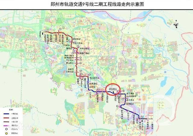 郑州地铁9号线非法占地千亩被罚款千万,违建部分被申请强拆
