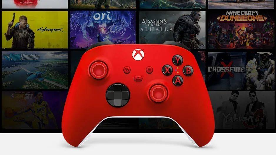 """""""锦鲤红""""Xbox手柄预售开启,1月19日发售"""