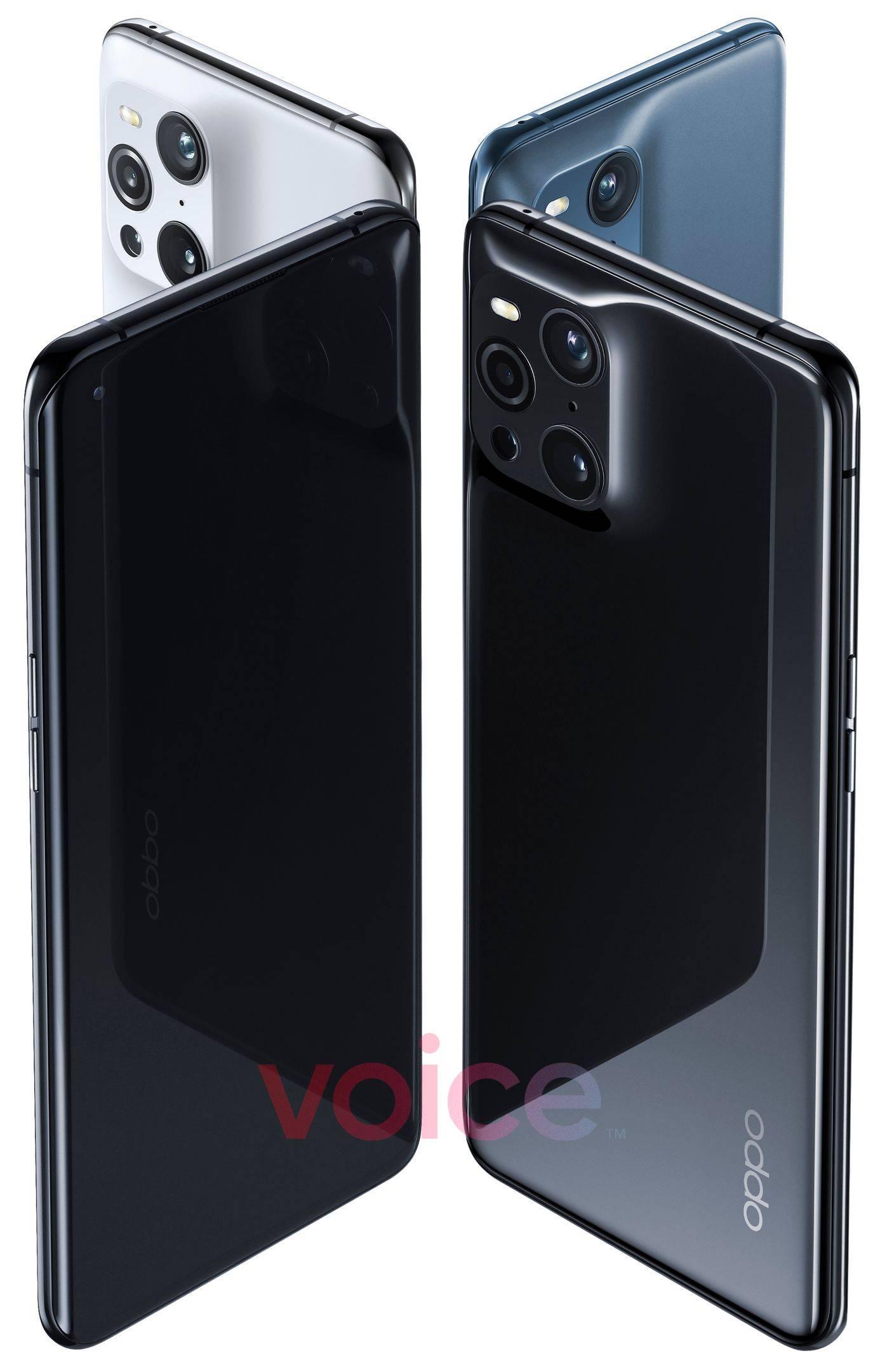 OPPO Find X3 Pro设计曝光:这个四摄有点独特