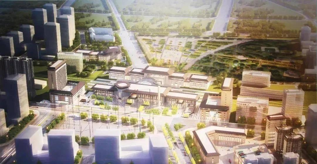 洛阳火车站北广场全面提升改造!将设置大型城市公园!