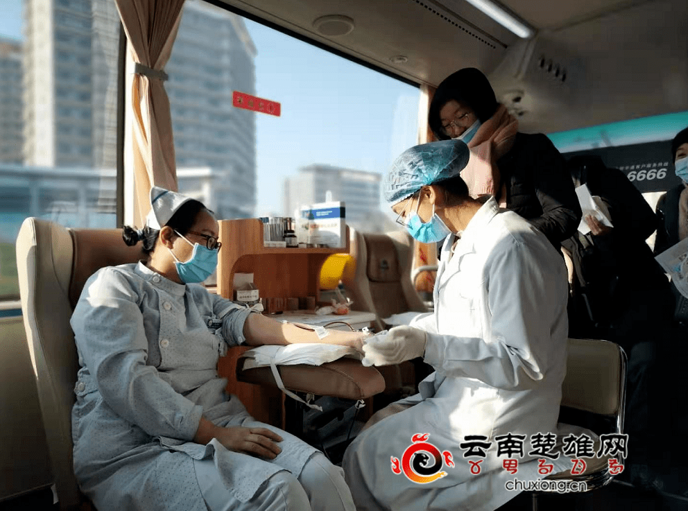 """楚雄州第一届""""医务人员献血月""""活动启动"""