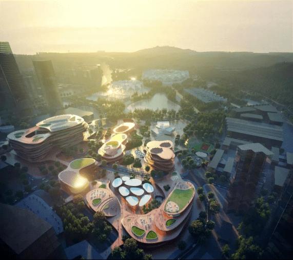 深圳未来第一高楼旁又有一个新地标!龙岗大运文化艺术公园曝光