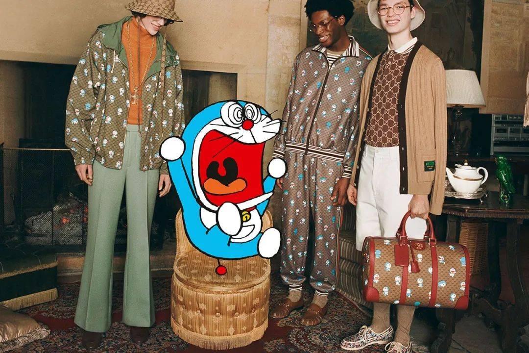 打破次元壁 Gucci x Doraemon 全新联名系列发售