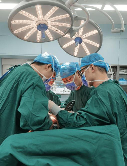 一台手术解决四大难题!北部宽仁肝胆外科再次挑战高难度手术