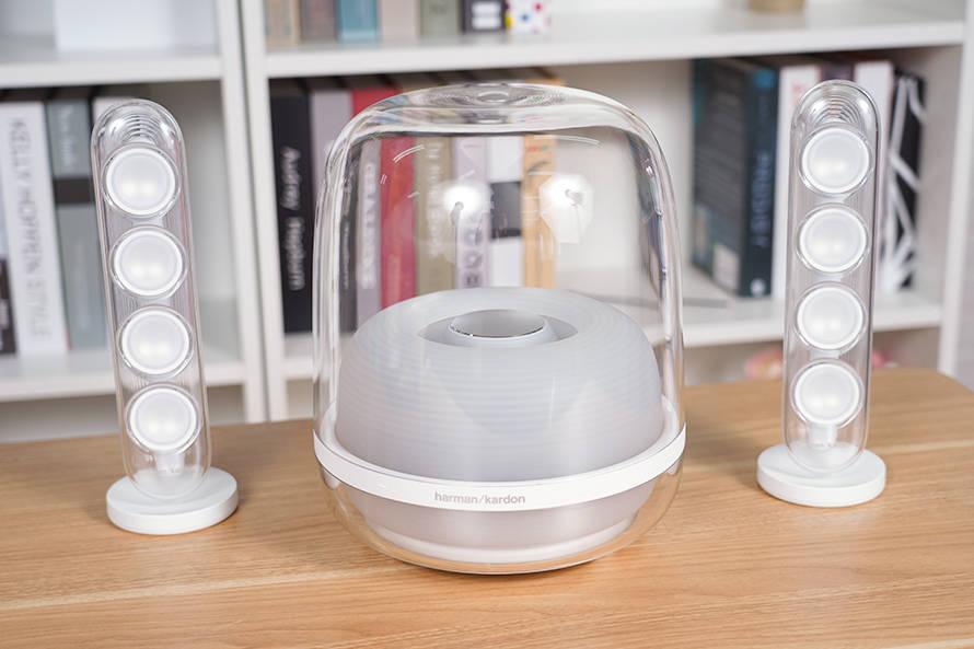 哈曼卡顿SoundSticks无线水晶四代蓝牙音箱评测:玲珑时尚 震撼低音