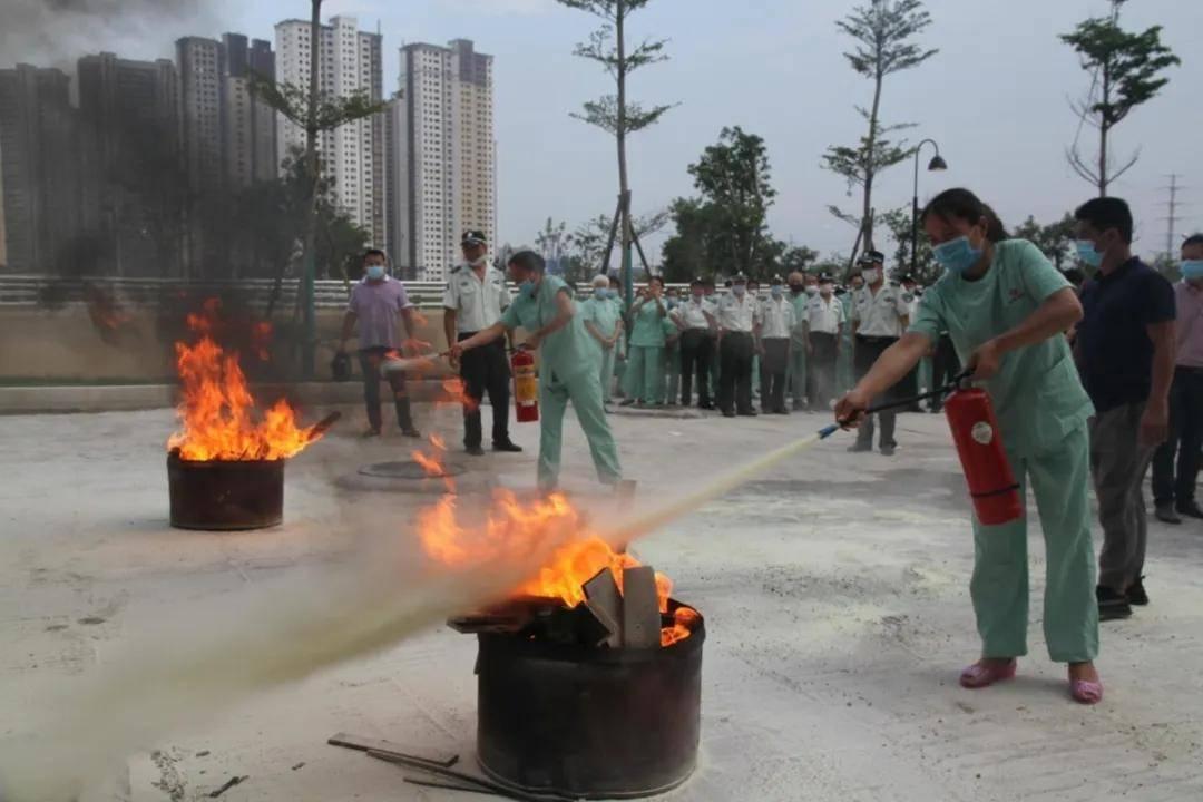 涵江医院第一党支部开展安全培训及灭火逃生疏散演练主题党日活动