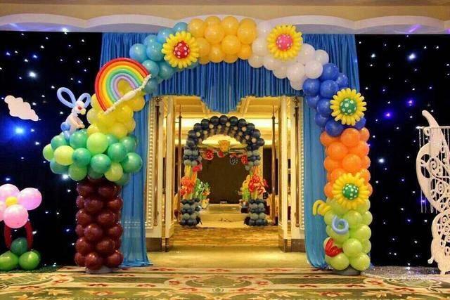 生日派对气球怎么固定在墙上?除了气球还需要什么