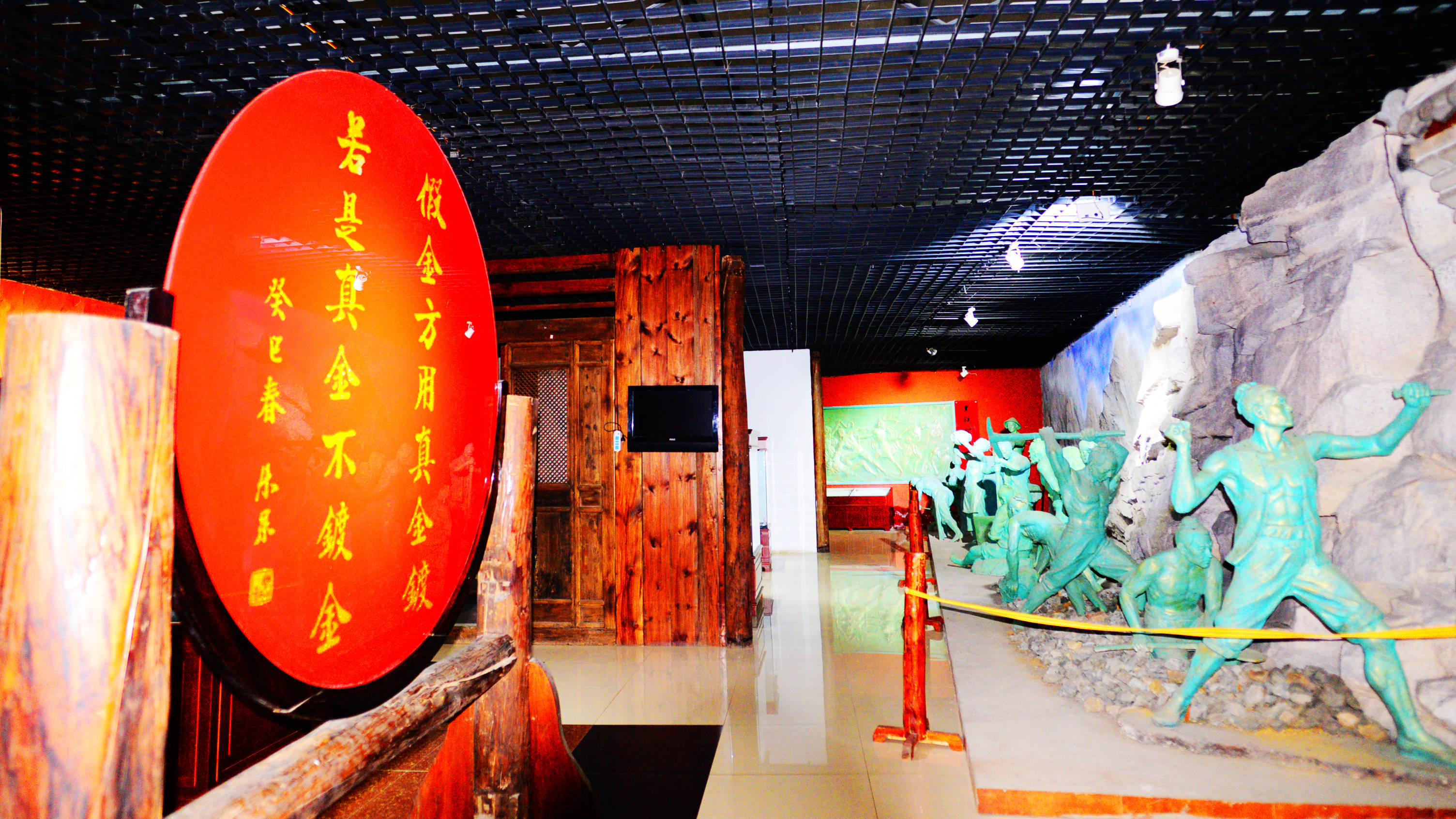 曲阳虎山风景区图片_虎山风景区黄金博览馆-搜狐大视野-搜狐新闻