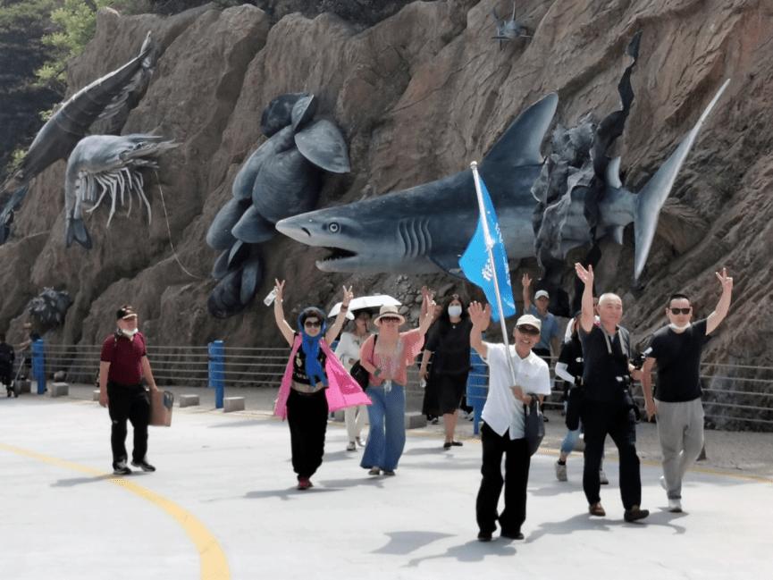"""第四届大连海洋文化节系列活动之一""""海洋生态科普行"""""""