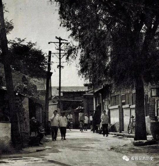 0年代老北京的胡同