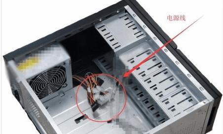 台式电脑插线步骤图(台式电脑电源插线步骤图)