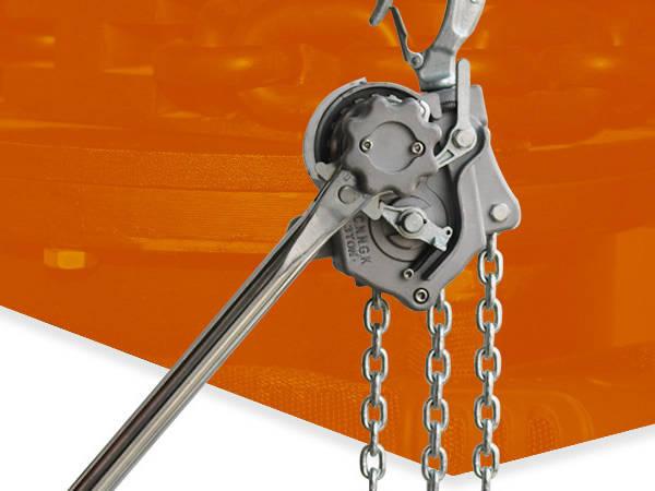 成华制造铝合金材料制成的手扳葫芦使用寿命更长久