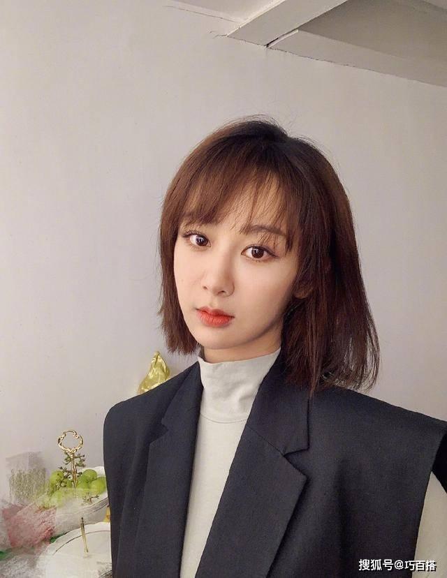 不得不说 杨紫太适合短发了 不仅显瘦显高 还能增加灵动气质 时尚家庭 第1张