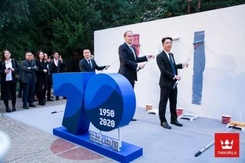 芬兰驻华大使亲临现场,芬琳漆2021发布会新品三连发