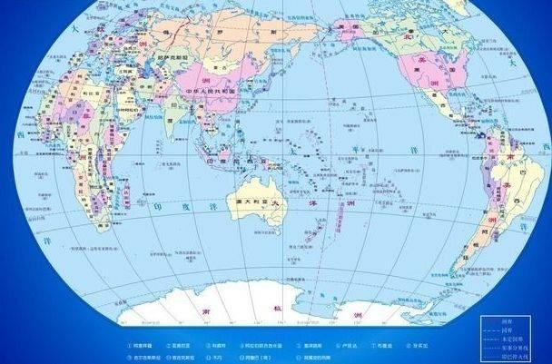 世界领土面积排名(世界国家面积排名前十)