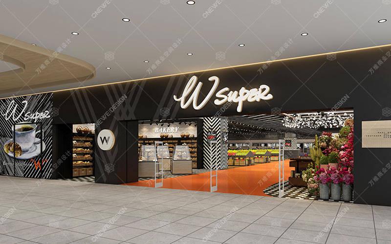 超市入口设计