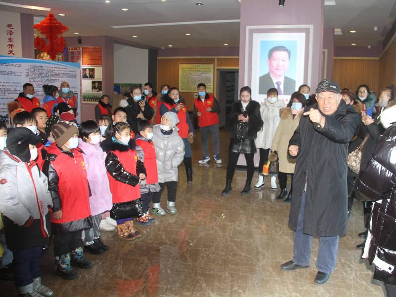 黑龙江拜泉县参观生态展馆,感受家乡变化