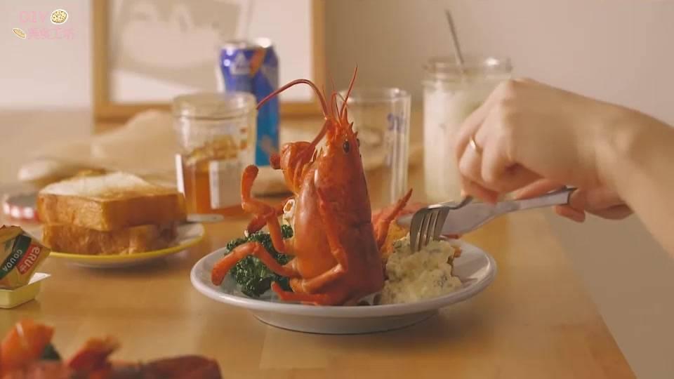 澳洲龙虾的做法视频教程(正宗的芝士焗龙虾做法)插图(10)