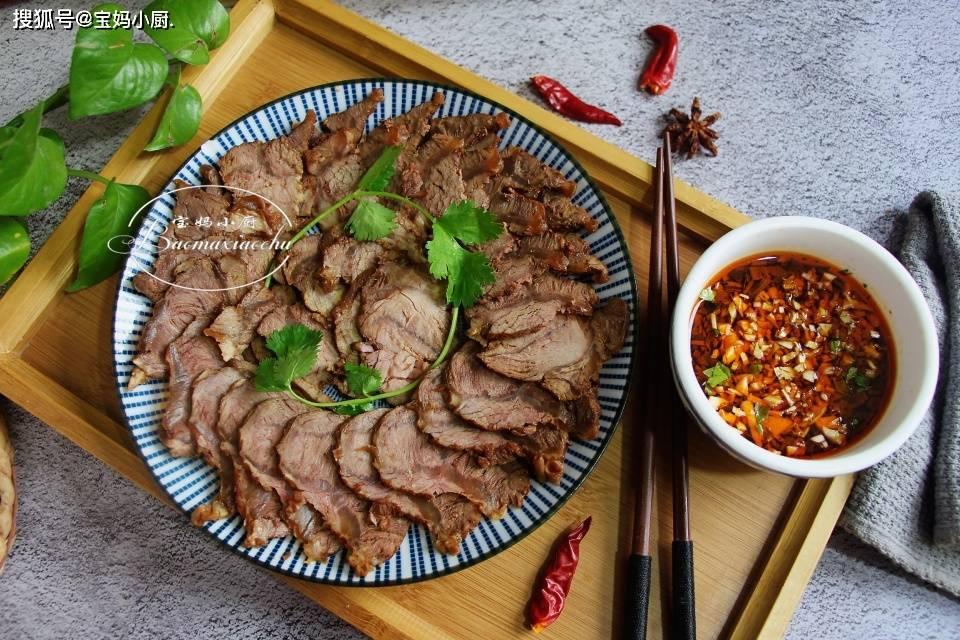 原创过年菜!非常可靠的酱牛肉做法,用料经常,电饭煲粥功能固定