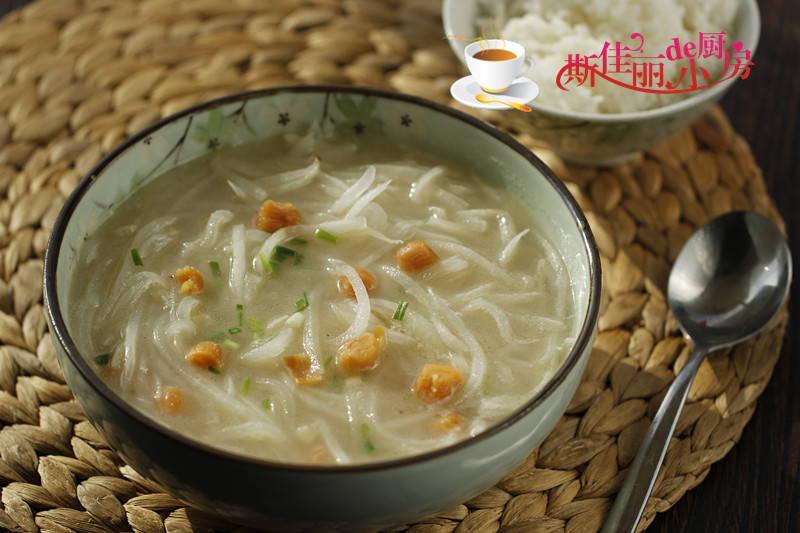 冬季进补要常喝汤,萝卜和它是绝配,鲜美滋补又润燥,上桌必喝光