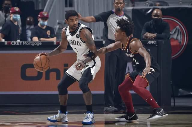 20-21赛季NBA常规赛东部新贵布鲁克林篮网再一次应战克利夫兰骑士