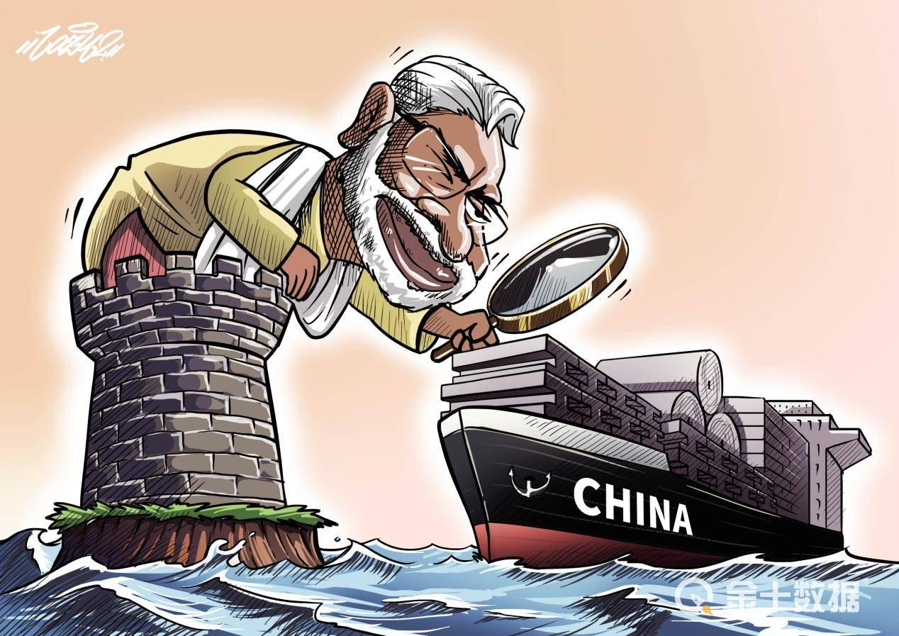 """中印贸易超6300亿!下架我国59款应用,印度""""错误举动""""或遭反噬"""