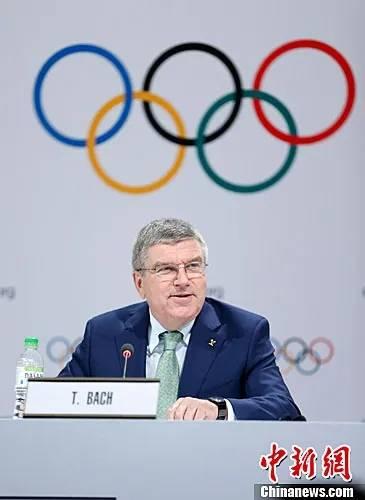 国际奥委会主席巴赫:鼓励各国为运动员接种疫苗
