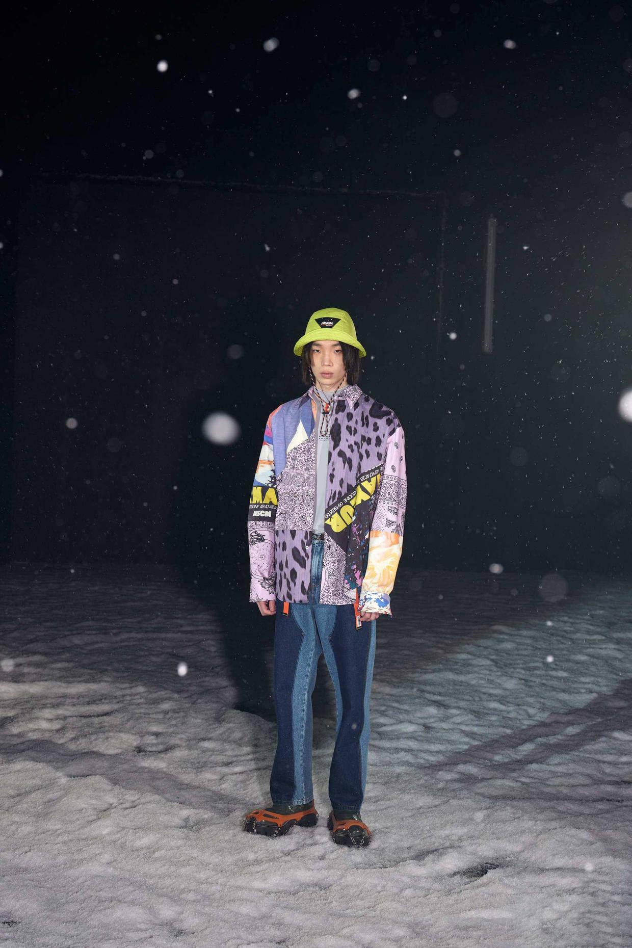 2021/22秋冬米兰男装时装周 诠释当代男装之美! 爸爸 第48张
