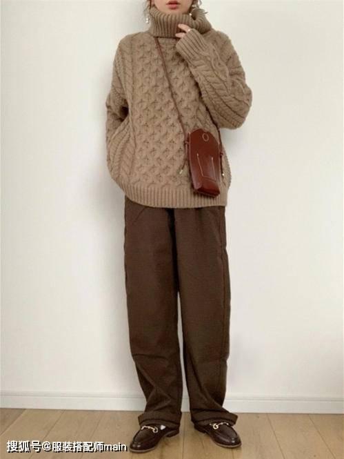 155cm小个子女生别错过休闲裤 照这4种方法选 显高显腿长 爸爸 第16张