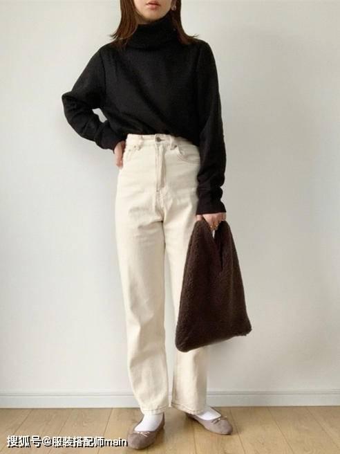155cm小个子女生别错过休闲裤 照这4种方法选 显高显腿长