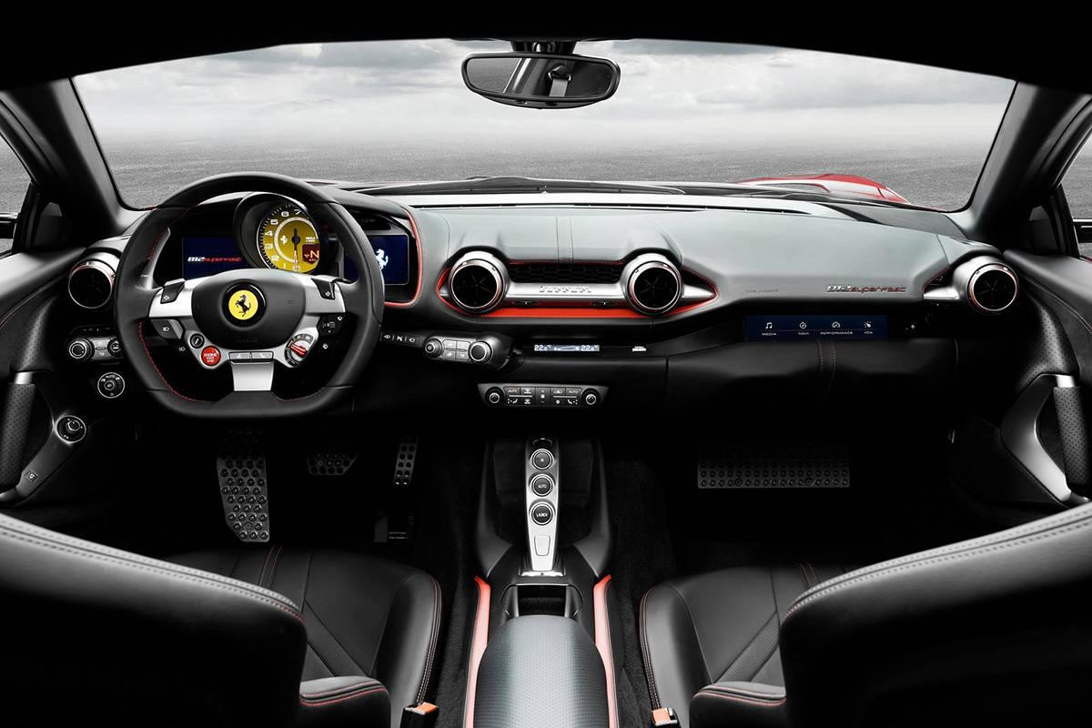 """812 GTO""谍照 按剧本这次估计真的是法家V12自吸绝唱"