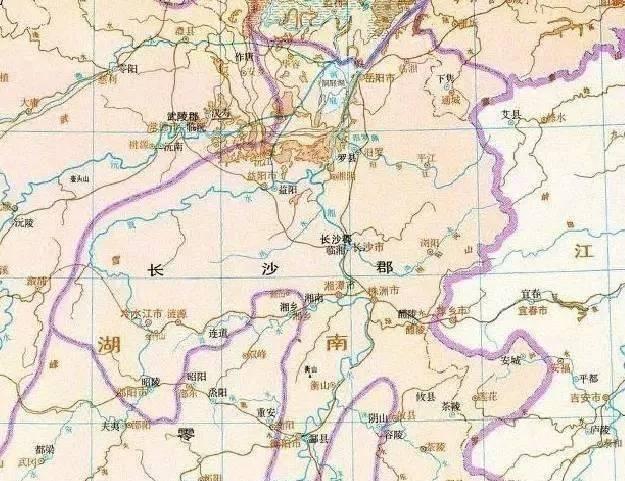 长沙郡的历史是怎样的?汉末的长沙郡发生过哪