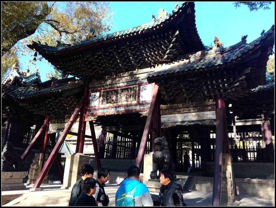 山环水绕无双地,神乐人欢第一区——太原晋祠游记4、水镜台,金人台,对越坊  第23张