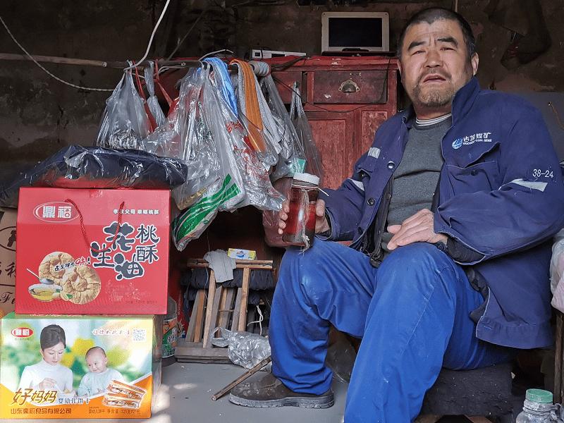 莒县义工联春节前走访困境家庭和孤寡老人送温暖活动