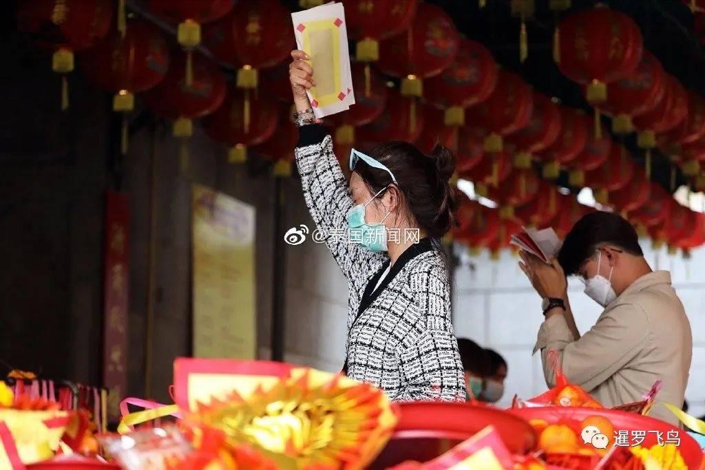 曼谷百年龙莲寺,源自广东潮州,泰国华人春节民俗代代传
