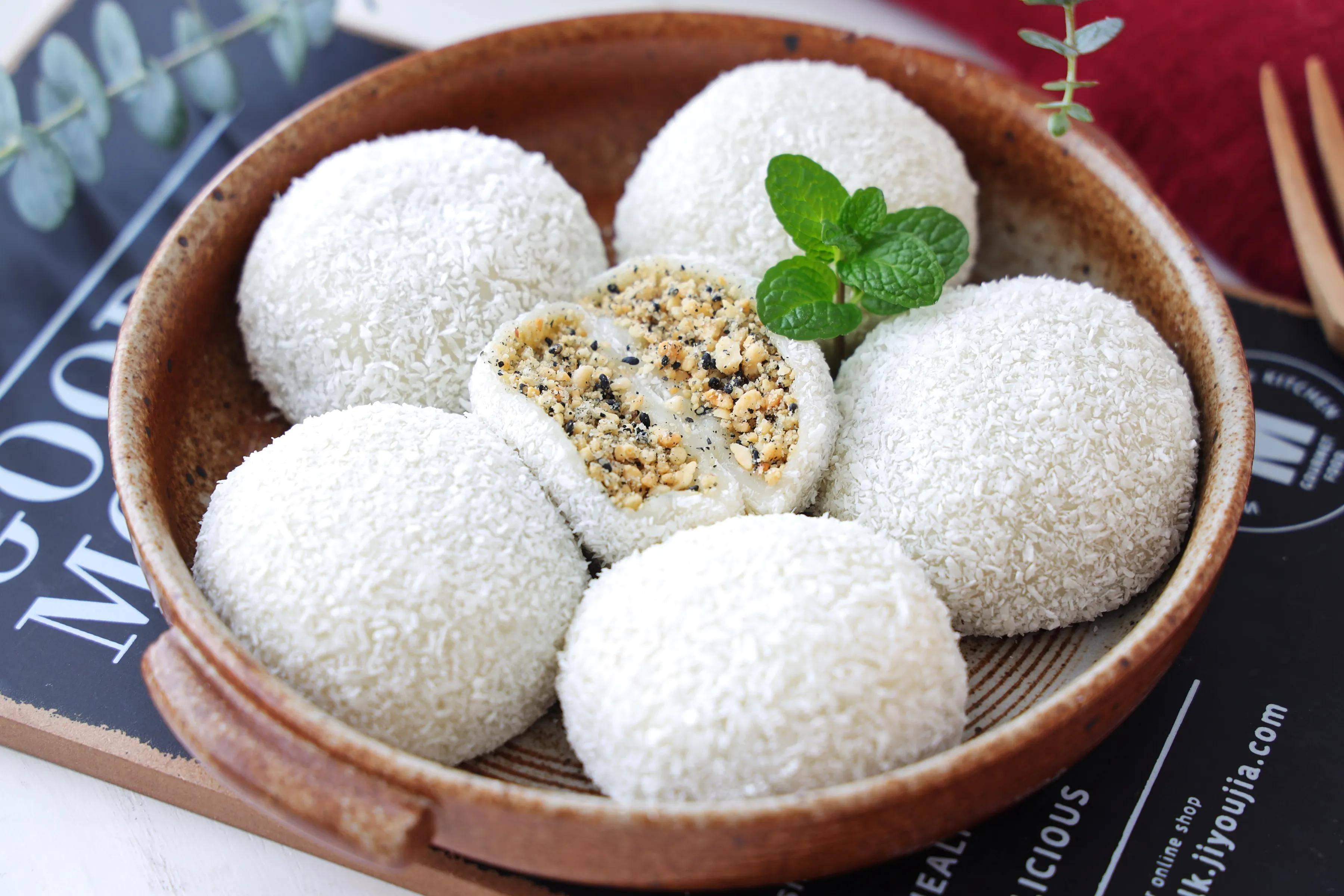 糯米粉这样做,比汤圆简单又好吃,还能当甜点,美味营养两不误!