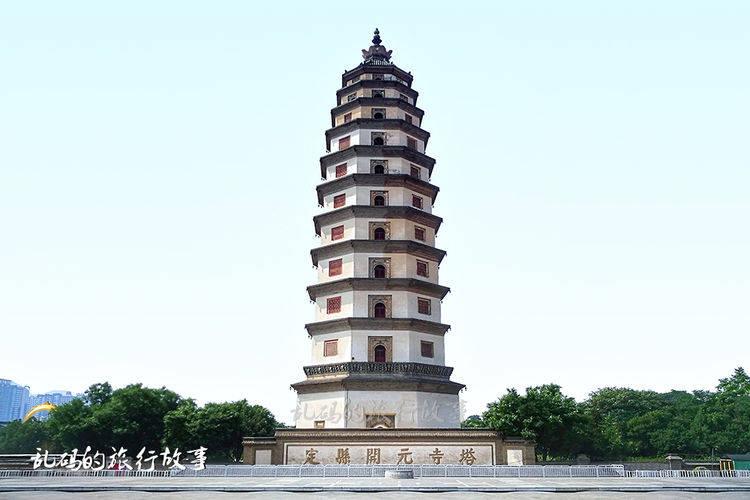 """河北这座塔 是中国最高砖木塔 11次地震不倒被誉为""""中华第一塔"""""""