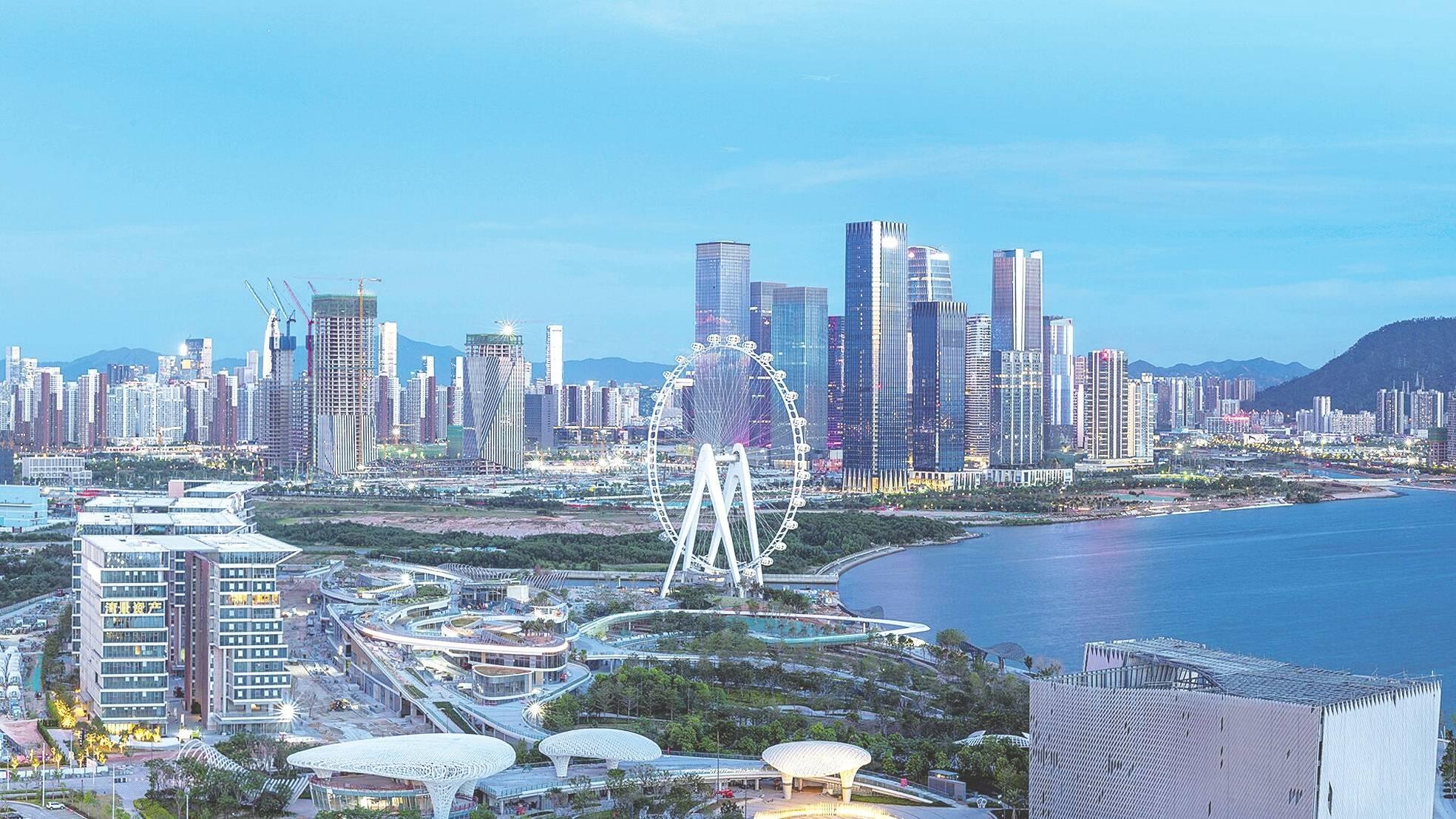 粤港湾大区2017经济总量_港湾