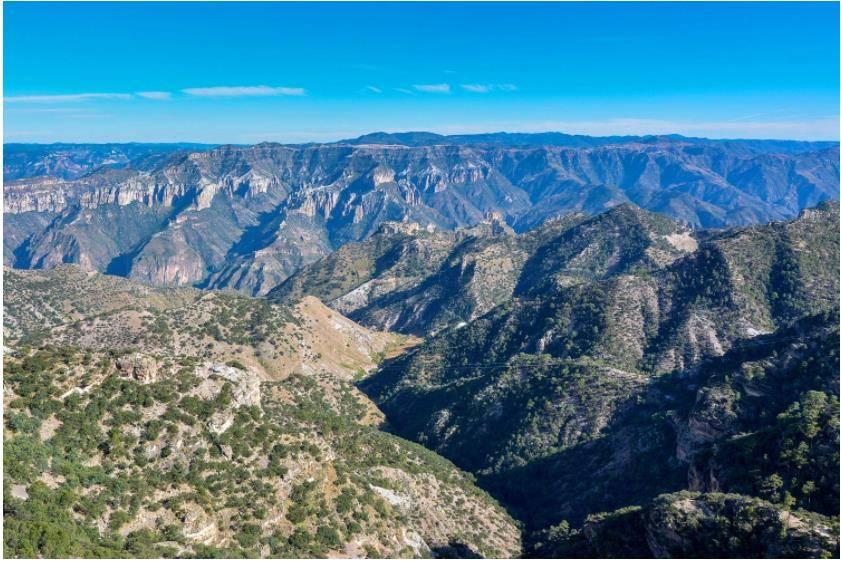 铜峡谷风景